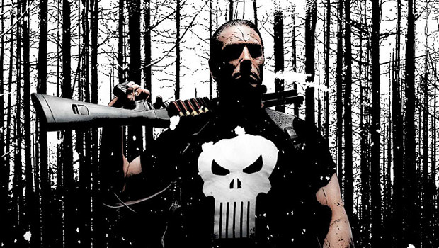 The Punisher illustrated by Eisner Award nominated Tim Bradstreet