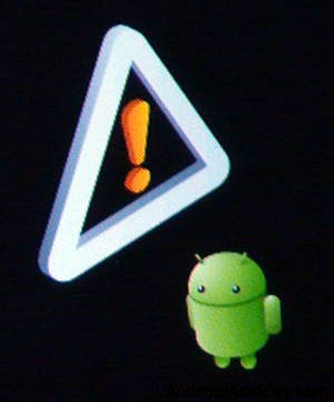 Android Concord in Recovery Mode