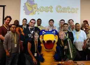 HostGator has a staff of over 750 employees to help you.